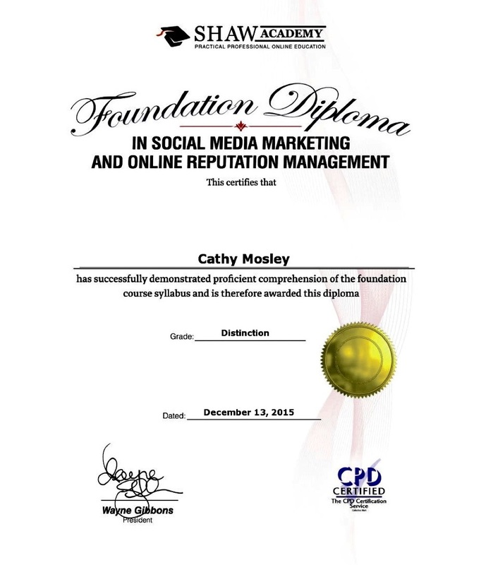 Social Media Certificates White Fox Social Media